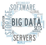 Big data search Royalty Free Stock Image