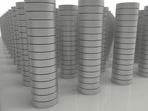 Big data storage concept Stock Photo