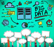 Big Data Storage Online Technology Database Concept Stock Photography