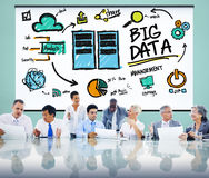 Big Data Storage Online Technology Database Concept Royalty Free Stock Photography