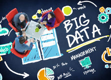 Big Data Storage Online Technology Database Concept Stock Image