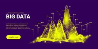 Big Data Analysis Futuristic Concept. stock illustration