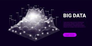 Big Data-Strom-Konzept, Geschäft Analytics stock abbildung