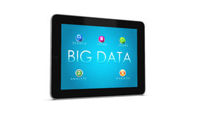 BIG DATA Tablet 2 Stock Image