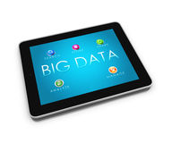 BIG DATA Tablet 1 Stock Image