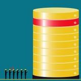 Big data technology audit teams found the problem Stock Photo