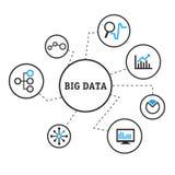 Big Data stock illustration