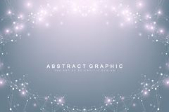 Big data visualization. Graphic abstract background communication. Perspective backdrop. Minimal array. Digital data. Visualization. Representing the global Vector Illustration