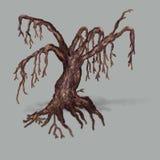 Big dead tree Stock Photo