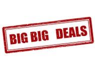 Big deals Stock Images
