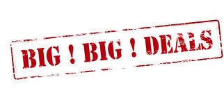 Big deals Royalty Free Stock Image