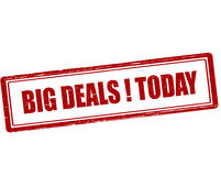 Big deals today Royalty Free Stock Image
