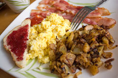 Big Delicious Breakfast Stock Image