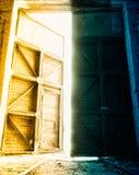 Big depot doors Stock Photography
