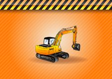 Big digger Royalty Free Stock Photos
