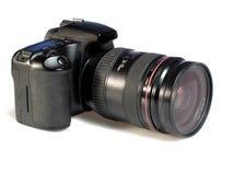 Big digital camera Royalty Free Stock Photos