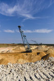 Big dipper dragline excavator Royalty Free Stock Images