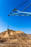 Big dipper dragline excavator Royalty Free Stock Photo