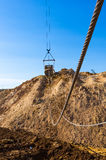 Big dipper dragline excavator Royalty Free Stock Image