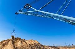 Big dipper dragline excavator Stock Image