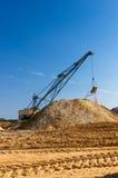 Big dipper dragline excavator Stock Images