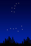 Big dipper, little dipper Stock Photography