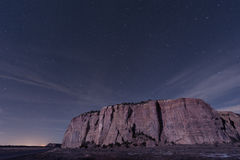 Big Dipper over a Big Mesa Royalty Free Stock Photos