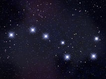 Big Dipper / Plough Stock Photography