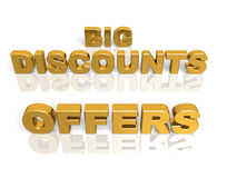 Big discounts Stock Photography