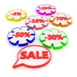 Big discounts Stock Photo