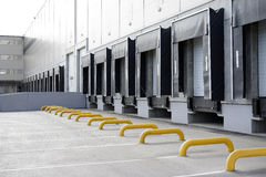 Big distribution warehouse Stock Photo