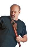 Big do-it-yourself plumbing project Stock Image