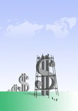 Big dollars Stock Photo