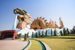 Big dragon at Dragon descendants museum. Suphanburi, Thailand Stock Photos