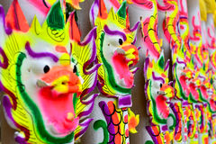Big Dragon joss sticks. Royalty Free Stock Photography