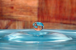 Big drop Stock Photo