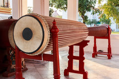 Big Drum in a Buddhist Temple Royalty Free Stock Image