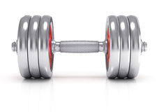 Big dumbells Stock Images