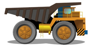Big dump truck Royalty Free Stock Photography