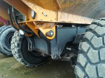 Big dumper truck Stock Photo