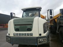 Big dumper truck. Dumper truck for construction and mining Stock Image