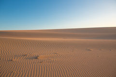 Big dune near Punta Gallinas Stock Photography