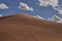 Big dune in Sahara desert Stock Photos