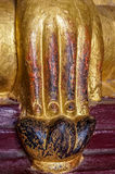 Big Earth Witness Mudra strong Buddha Hand Stock Photography