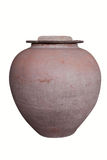 Big earthen jar Royalty Free Stock Image
