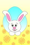 big Easter Bunny stock illustration
