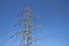 big electricity post  Stock Image