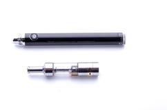 Big electronic cigarette isolated on white Stock Photo