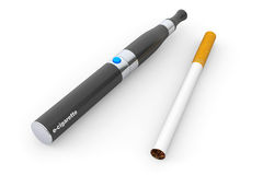 Big Electronic Cigarette Stock Image