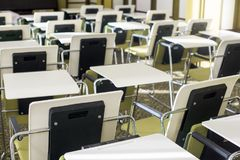 Big empty Classroom Royalty Free Stock Photo